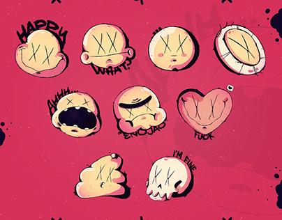 Sticker x_x