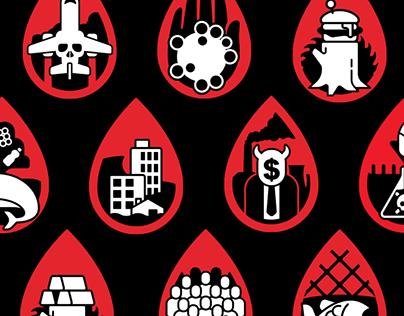 Climate Crisis Icon Set