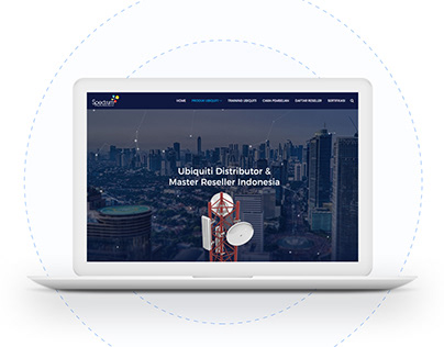 Ubiquiti Spectrum Website Design