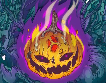 Jack-o'Lantern - The Retro Monster