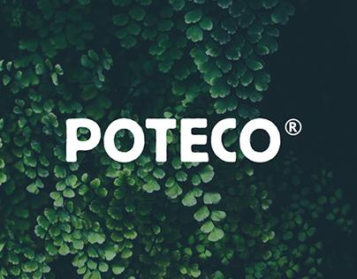 Poteco - Brand design