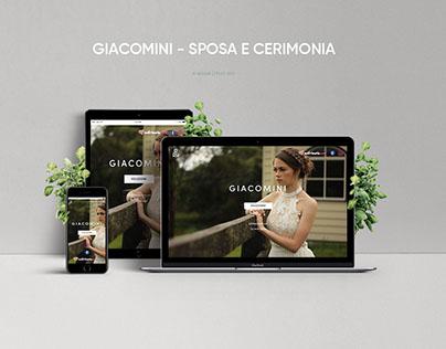 Website Giacomini - Sposa e cerimoni
