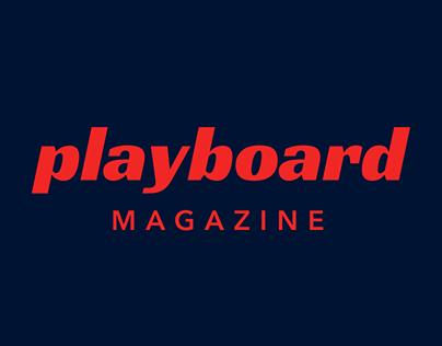 Playboard Magazine Concept Redesign