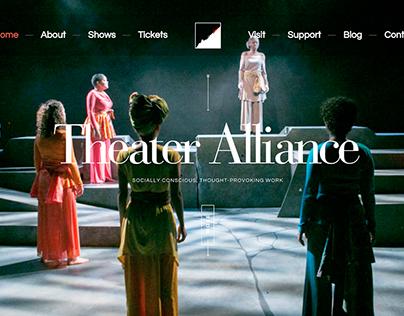 Theatre Alliance Web Design and Development