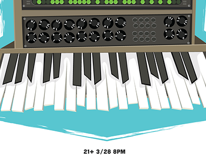 Analog Synth Poster