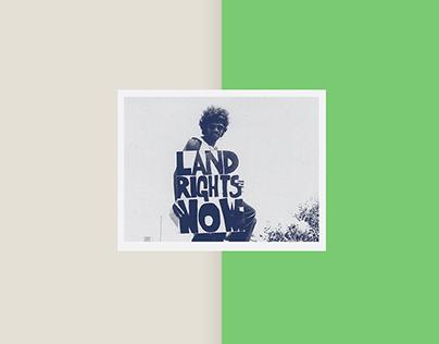 #LandRightsNow, Conference Branding