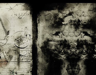 Cosmic trees VIII/II/IV/II, digital painting
