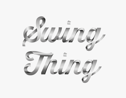 Logo Electro Swing Band  / work in progress