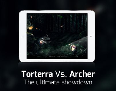 Torterra vs. Archer - The ultimate showdown