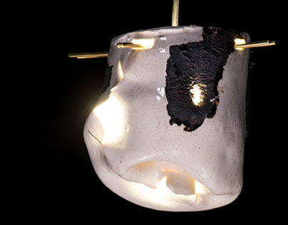 Ceramic Lanterns made by Invisible Forces