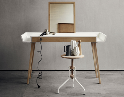 STYLO makeup table by SAYS WHO