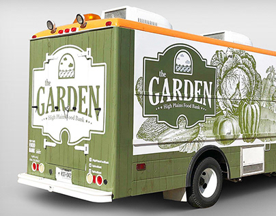 The Garden at High Plains Food Bank Food Truck