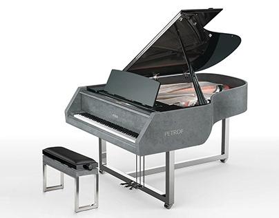 Grand piano Gravelli