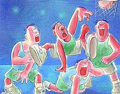 Stylized Children's Book Illustrations