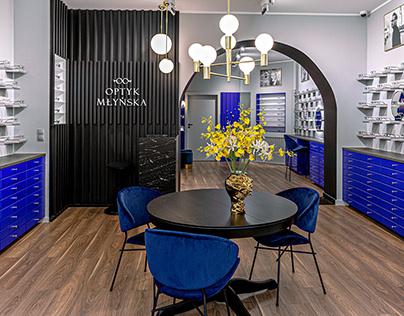 2020: Showroom of a classy optician / Salon optyczny