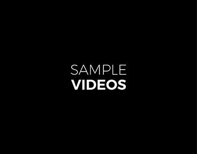 Sample Videos