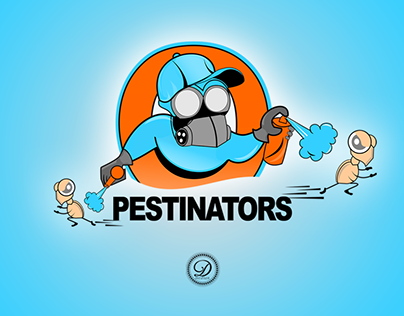 Pestinators brand design