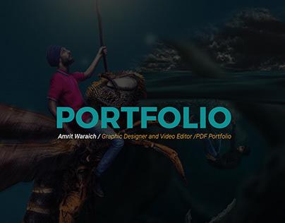 Graphic Design Portfolio 2019 - Amrit Waraich