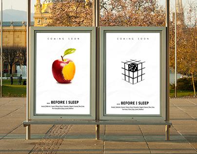 Poster Design : Before I Sleep