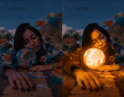 Glow Effect with photoshop