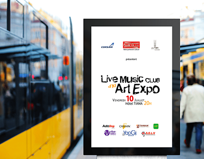 LIVE MUSIC CLUB & ART EXPO 2020