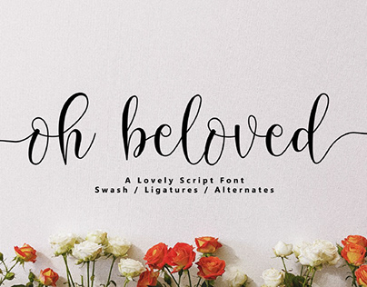 FREE | Oh Beloved Lovely Script Font