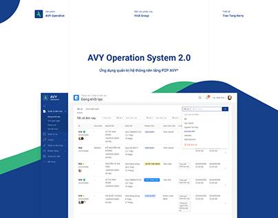 AVY Operation System 2.0