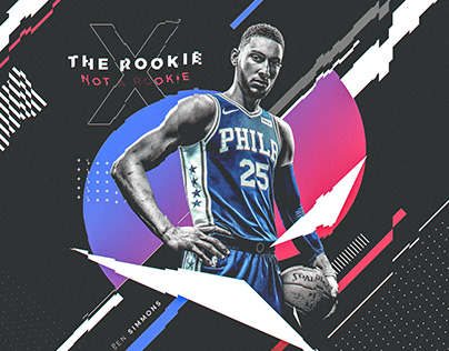 Nike Poster (Spoof) | Ben Simmons #25 | The Rookie
