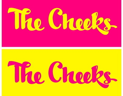 The Cheeks band logo