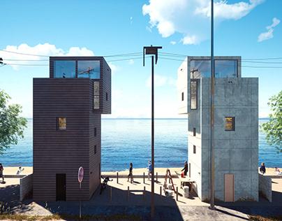 4x4 House - Tadao Ando