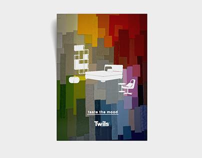 Twils, Taste the mood. Advertising e Exhibit