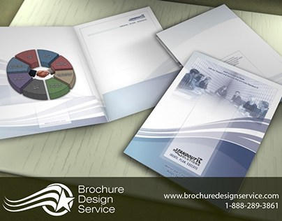 Presentation Folder Design - IT Company