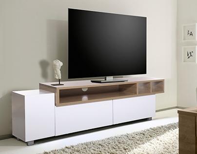 Wadeco - TV Stand, Kaysha