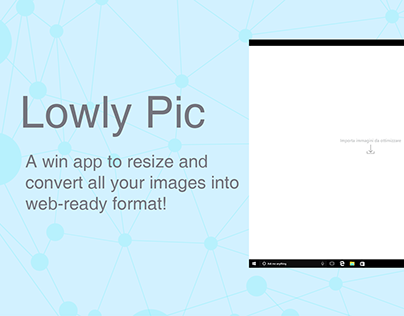 Lowly Pic - Win App to resize your images
