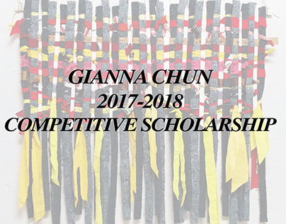 MICA 2018 Competitive Scholarship Gianna Chun