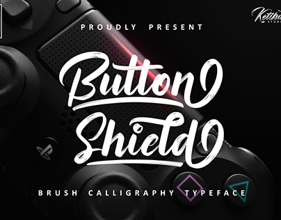 Button Shield Free Font
