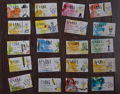 140 tarjetas de visita / 140 visit cards
