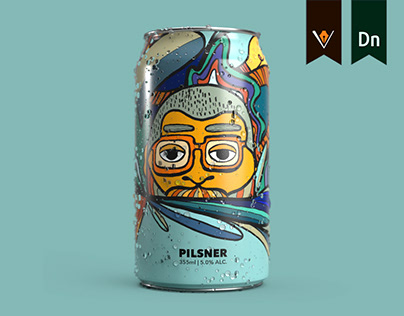 Illustrated Beers Cans - Branding & Packaging Design