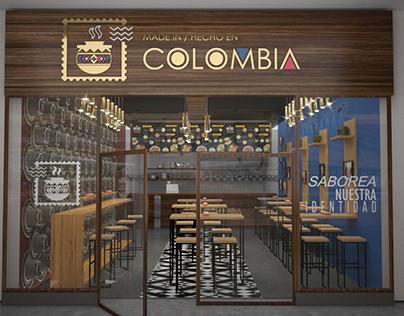 Made in Colombia - Resto design