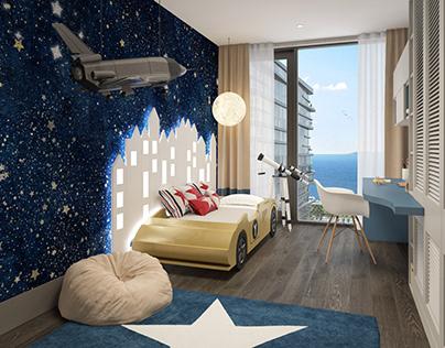 Yedi Mavi House Visualization / Istanbul, TURKEY