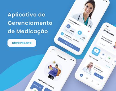 Aplicativo de Gerenciamento de Medicação