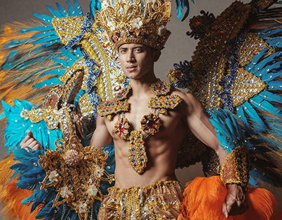 2019 Mister Global candidates in National costumes