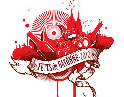 Tee shirt Bayonne 2012