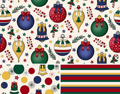 Print & Pattern Design w/Coordinates - Vintage Baubles