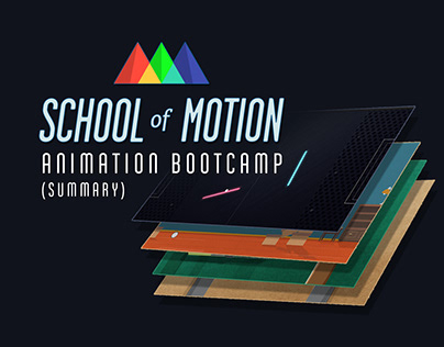 School of Motion Animation Bootcamp (summary)