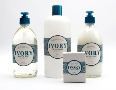 Ivory Soap Rebrand