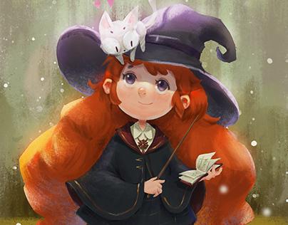 小魔女和她的小伙伴