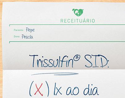 Campanha de lançamento Trissulfin SID