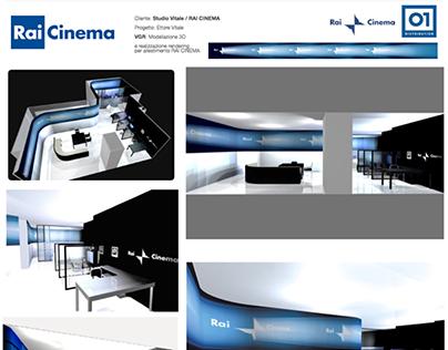 Rai Cinema Allestimento