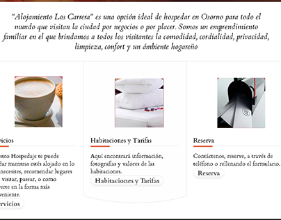 Alojamiento en Osorno sitio web